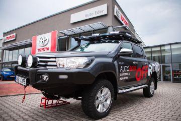 Toyota HILUX 2.4 D‑4D (150 k) 6st. man. převodovka 4×4  Active - Offroad