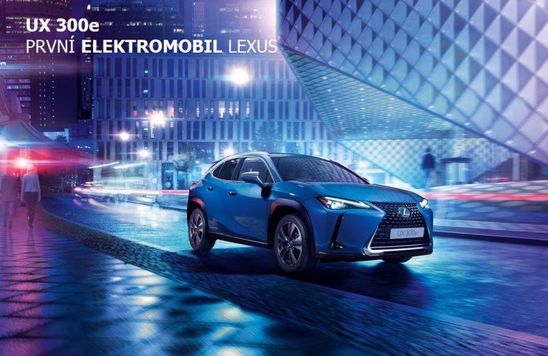 13. 5. 2021 - Předpremiéra 1. elektromobilu značky Lexus, modelu UX 300e