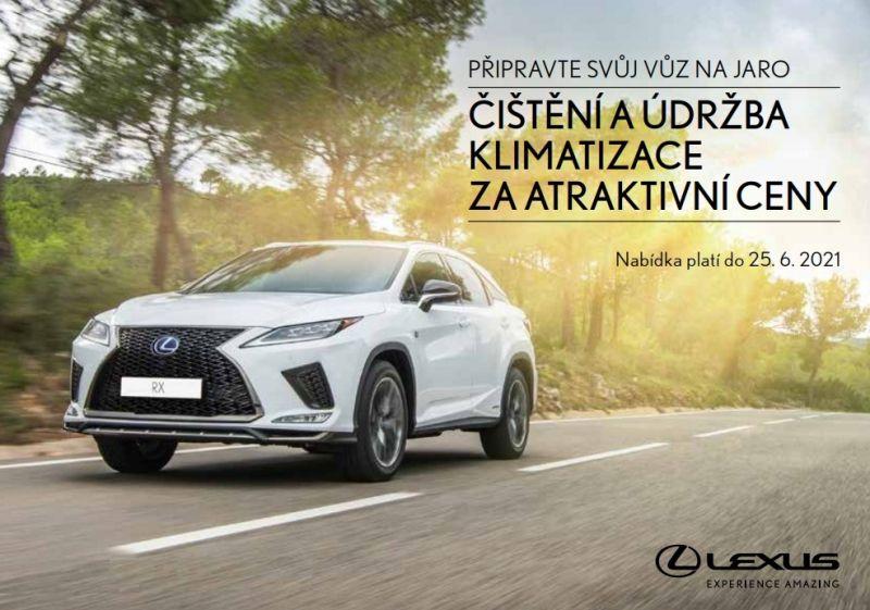 Jarní servisní akce Lexus