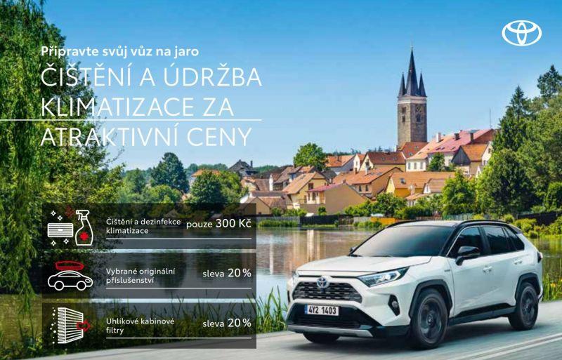 Jarní servisní akce Toyota