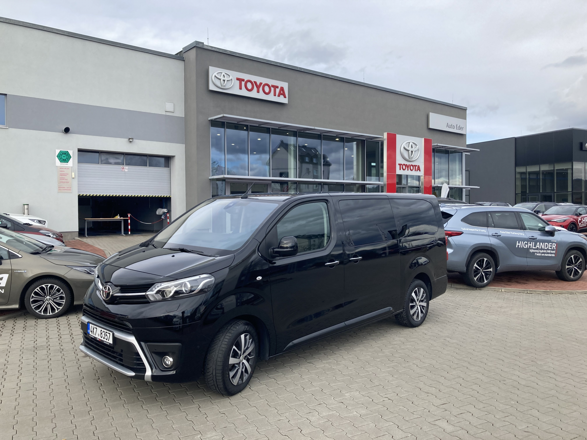 Toyota PROACE VERSO VIP L2 2,0 D-4D (180 k) diesel 8st. aut. převodovka