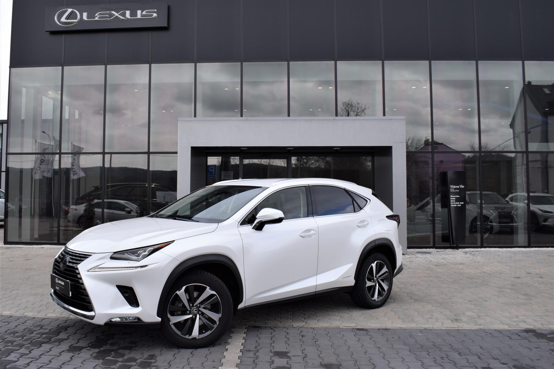 Lexus NX 300h LUXURY 2.5 L Petrol Hybrid (197 k) aut. e-CVT (4X4)