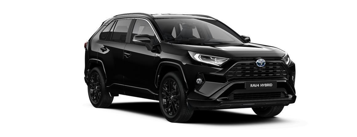 Toyota RAV4 2,5 Hybrid (222k) e-CVT benzin Black Edition (4x4)