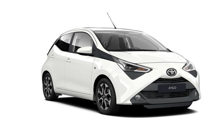 Toyota AYGO MY20 1,0 VVT-i (72 k) benzin 5st. man. x-play