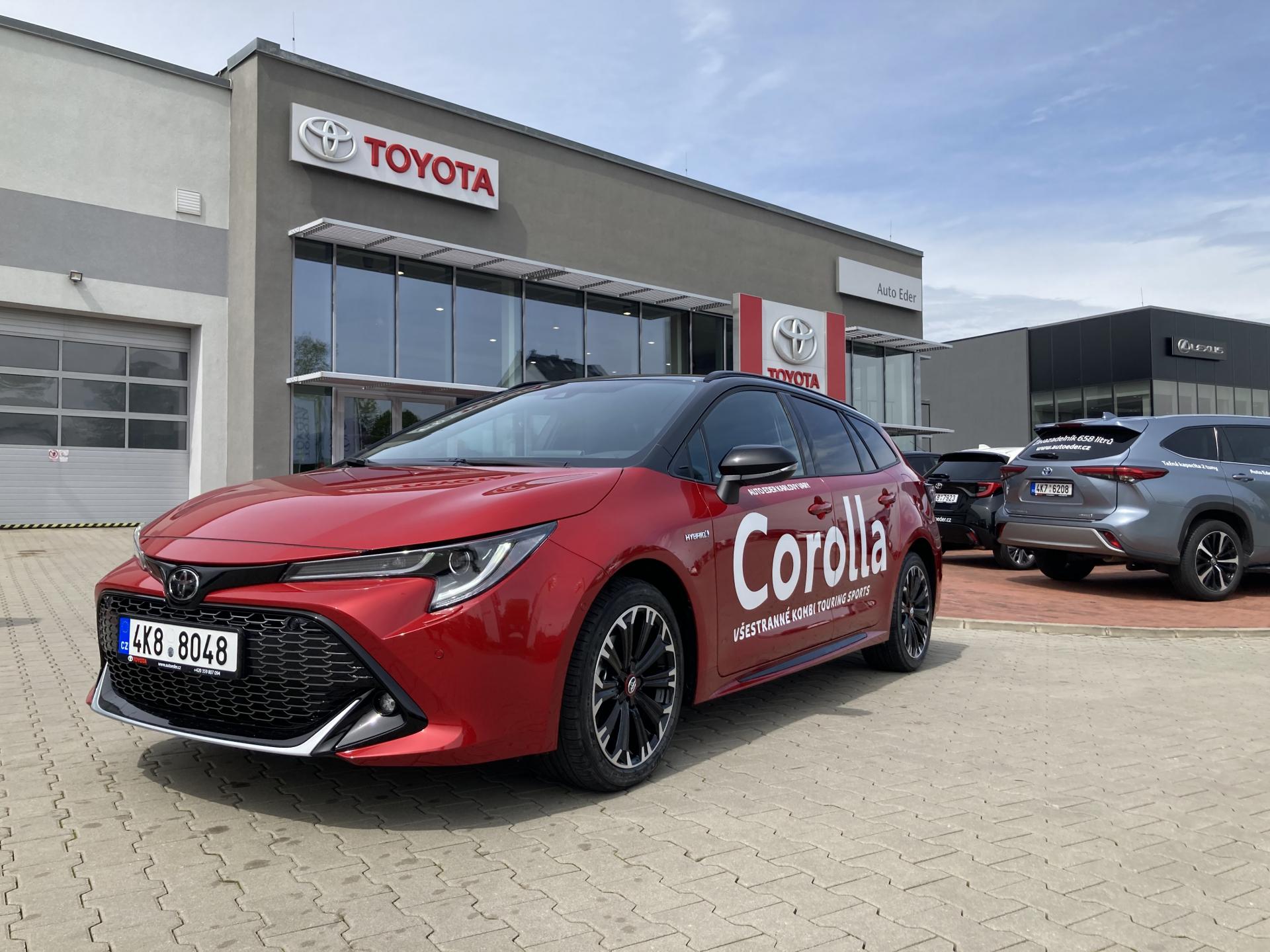 Toyota COROLLA Touring Sports 1,8 Hybrid (122 k) aut. e-CVT GR Sport