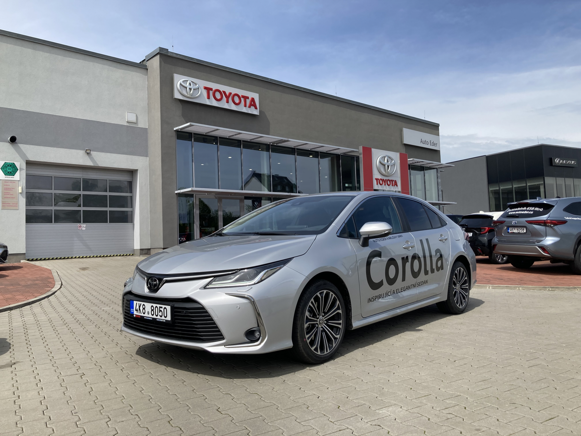 Toyota COROLLA Sedan 1.5 Dynamic Force (123 k) 6st. man. převodovka Comfort