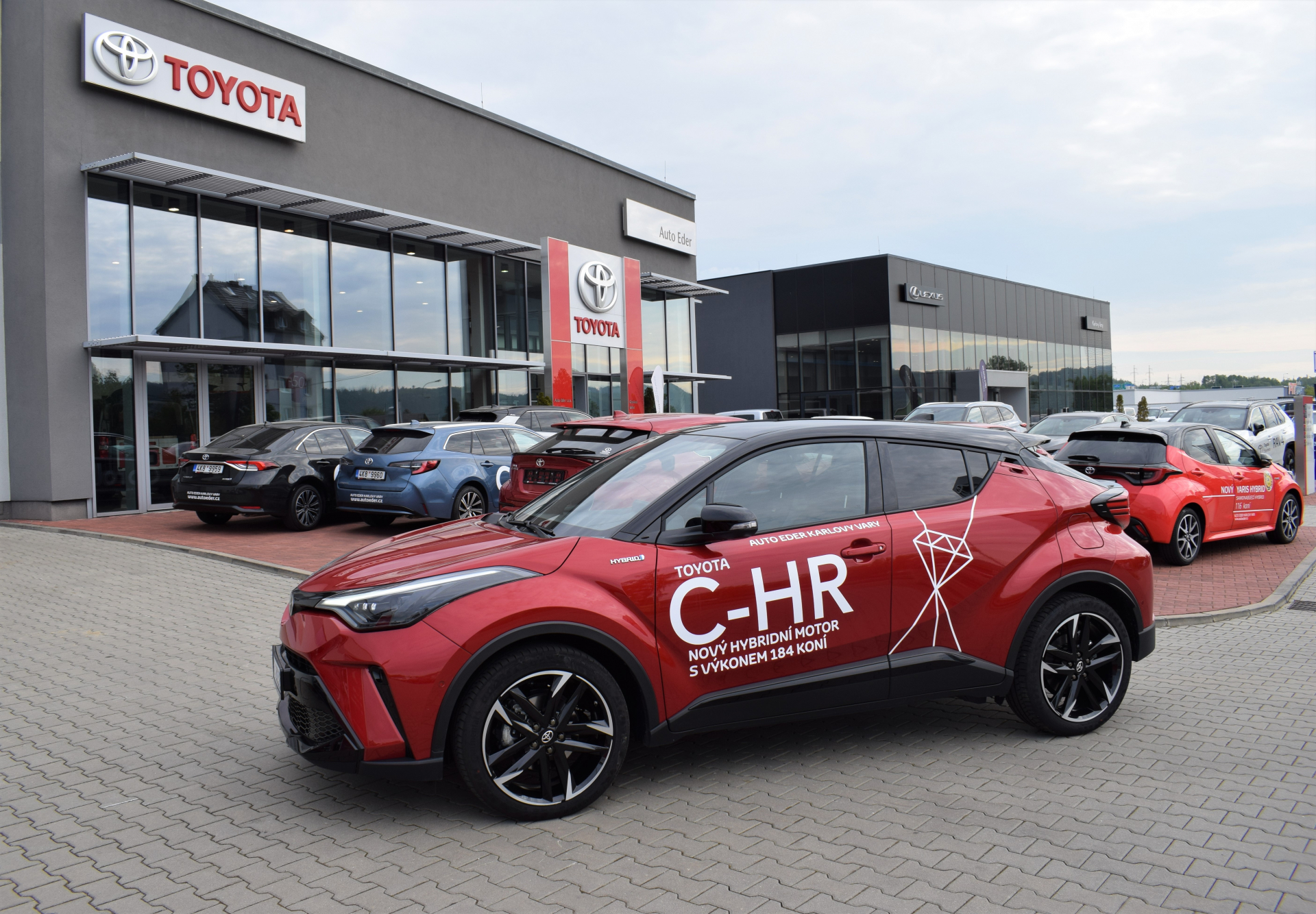 Toyota C-HR 2,0 Hybrid (184 k) aut. e-CVT GR Sport