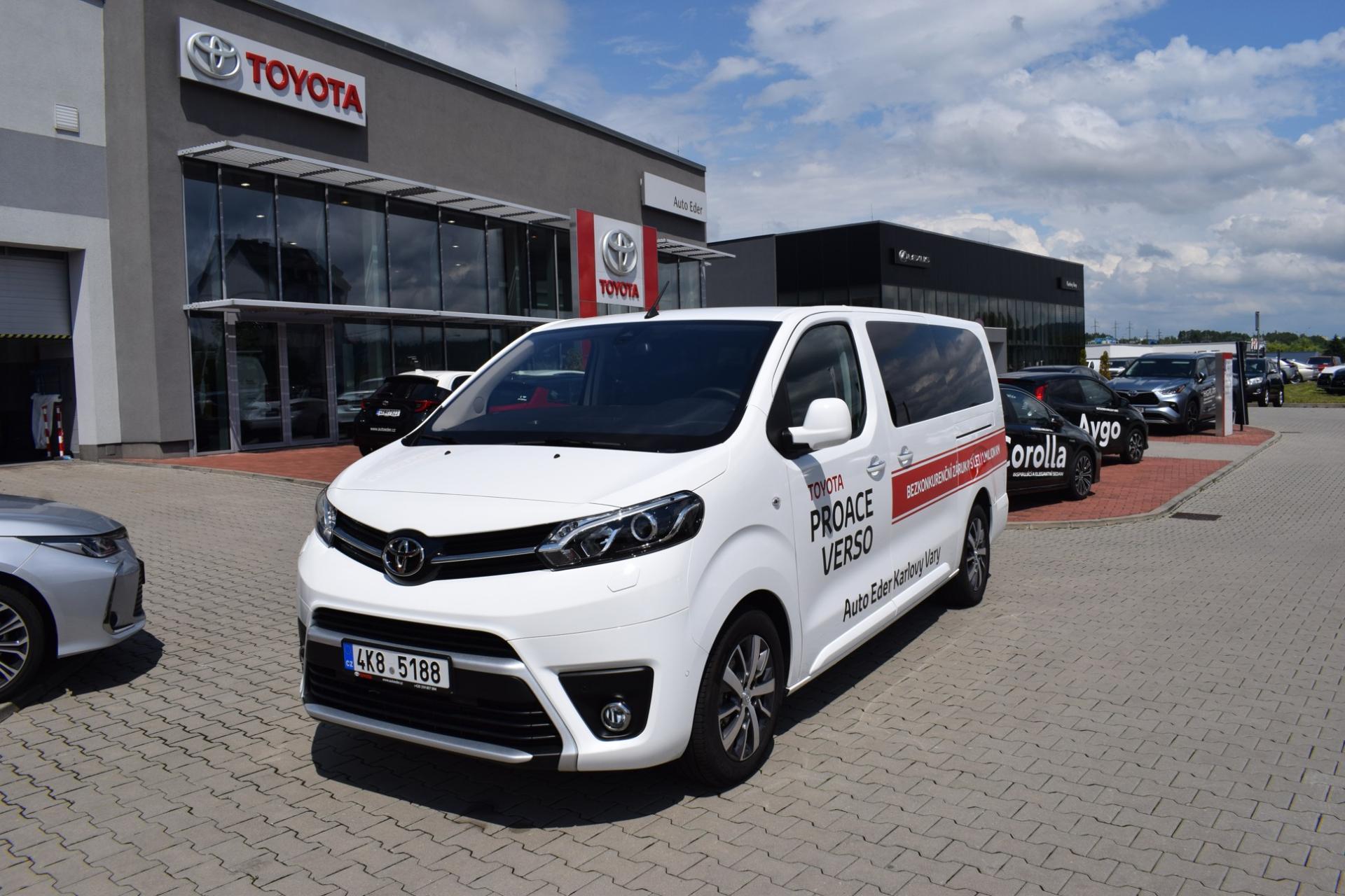Toyota PROACE VERSO FAMILY RC20 L2 2,0 D-4D (180 k) diesel 8st. aut. převodovka