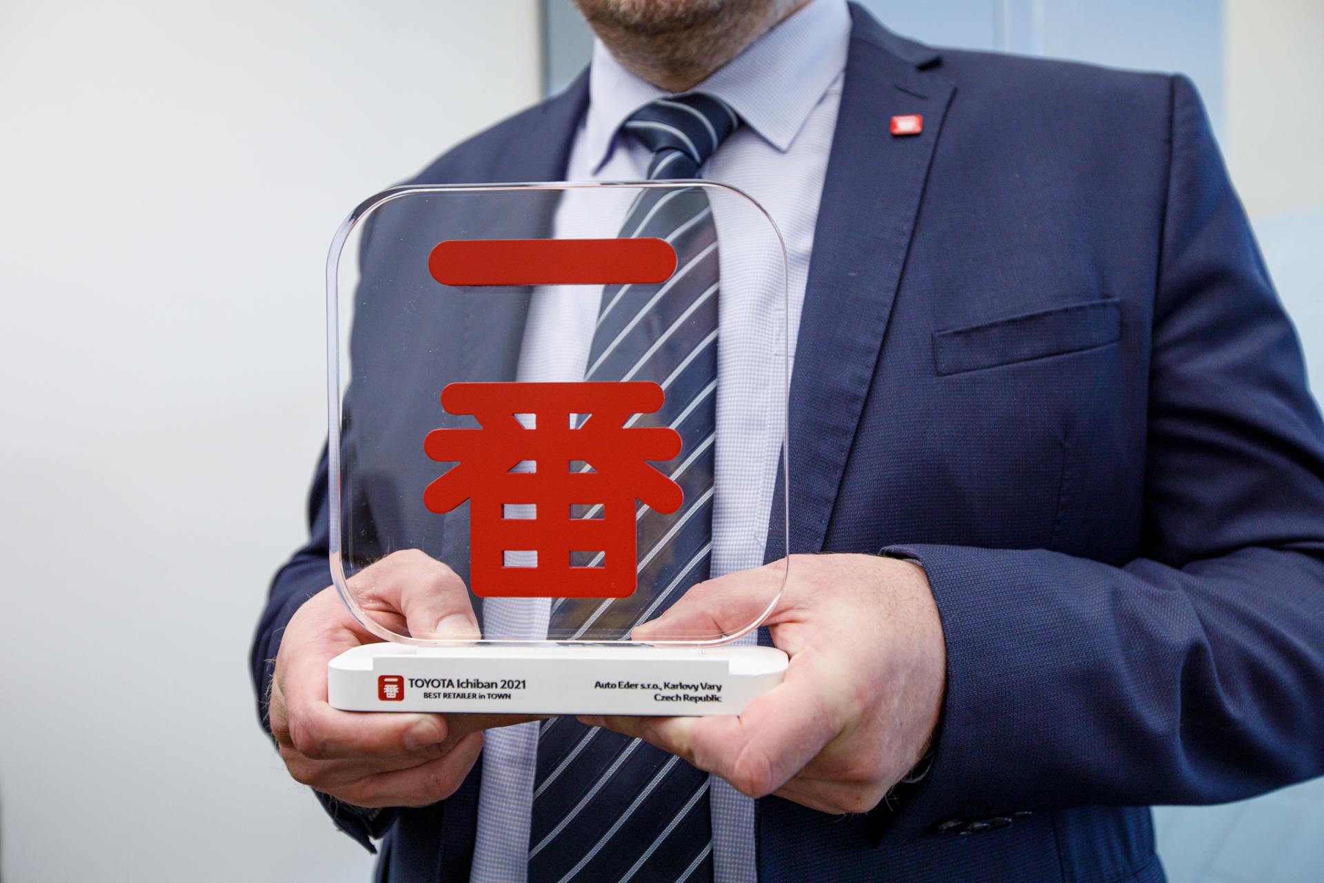 Auto Eder - držitel ceny Ichiban 2021