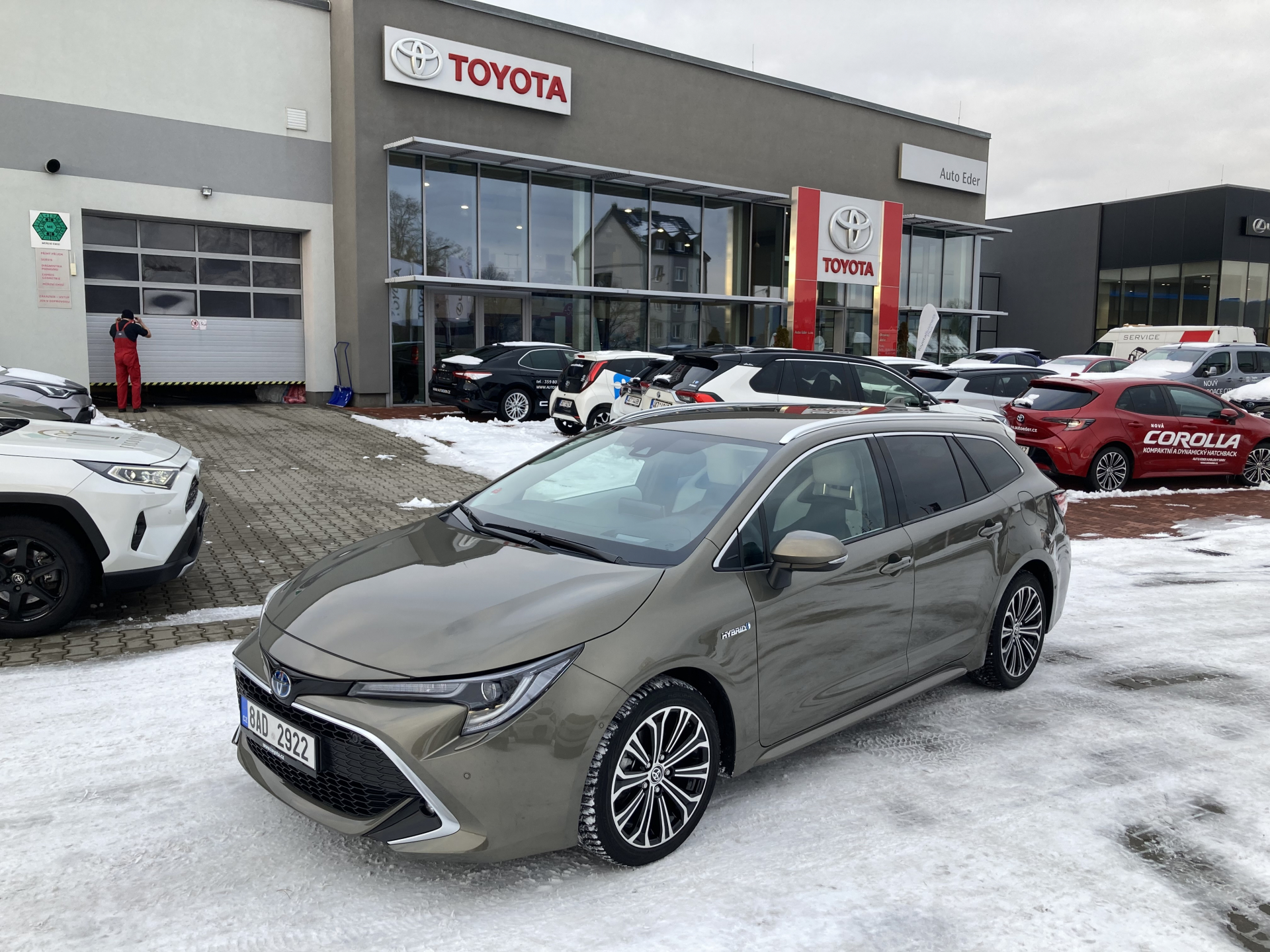 Toyota COROLLA Touring Sports 1,8 Hybrid (122 k) aut. e-CVT Executive
