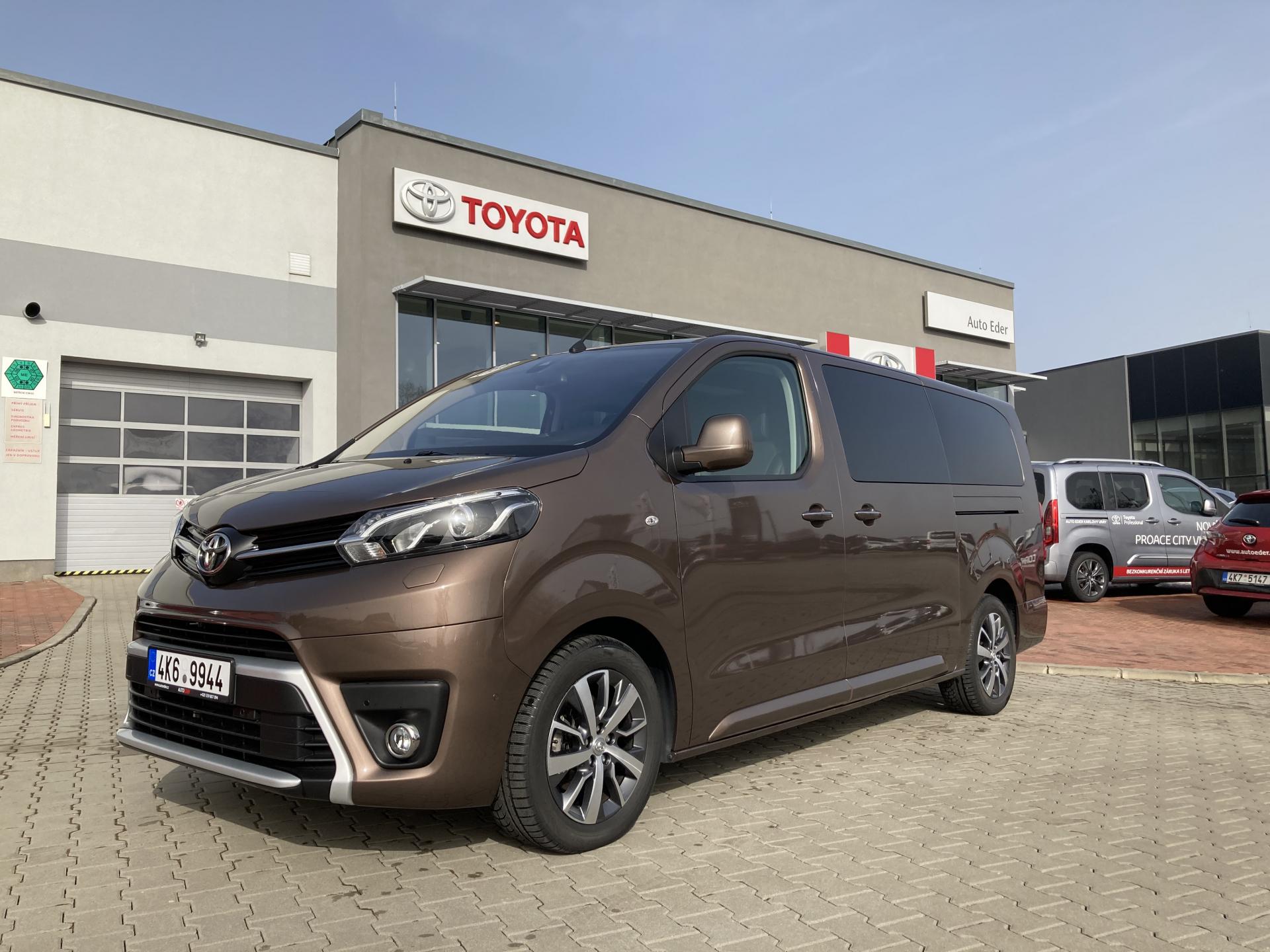 Toyota PROACE VERSO VIP RC20 L2 2,0 D-4D (180 k) diesel 8st. aut. převodovka