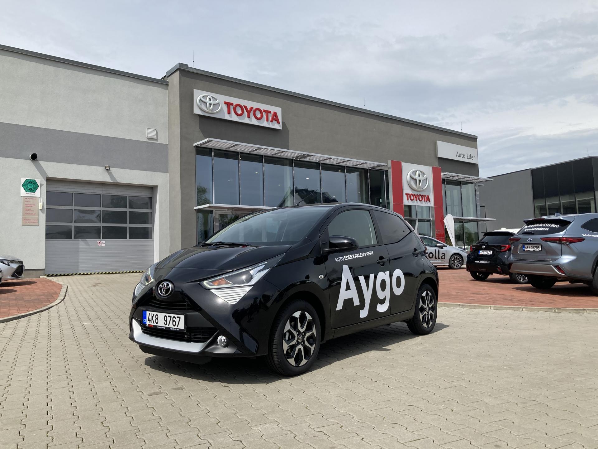 Toyota AYGO MY21 1,0 VVT-i (72 k) benzin 5st. man. x-play