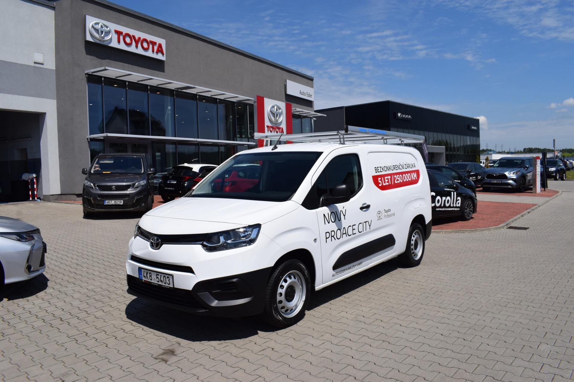 Toyota PROACE CITY Long 1.5 D-4D (130 k) SCR 6 M/T Start&Stop EXTRA Active + vestavba Sortimo