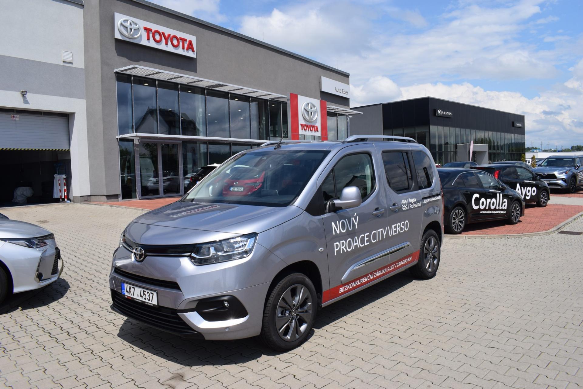 Toyota PROACE CITY VERSO Short 1.5 D-4D (130 k) Start&Stop převodovka 8 A/T Family